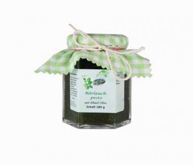 Bärlauchpesto mit Albaöl Olive 185 g