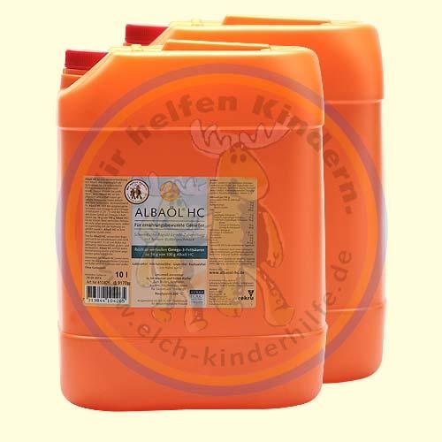 Albaöl® HC 2x10 l  (extra hoher Omega-3-Fettsäurenanteil)
