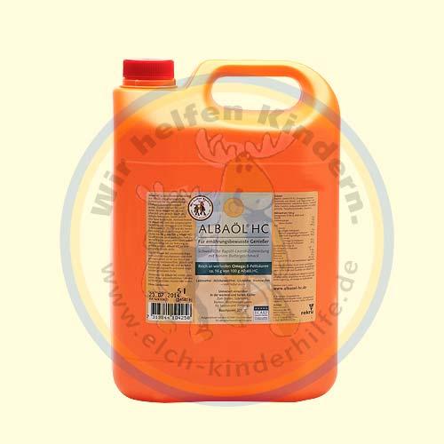 Albaöl® HC 5 l  (extra hoher Omega-3-Fettsäurenanteil)