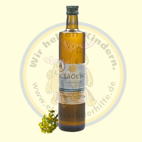 Albaöl® HC 0,75 l (extra hoher Omega-3-Fettsäurenanteil)