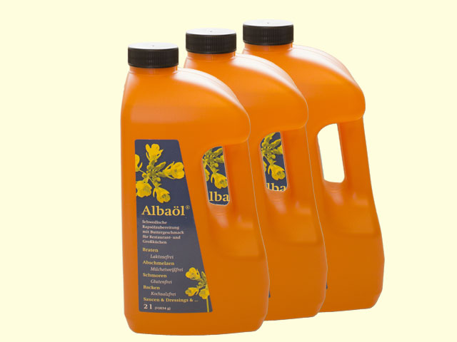 Albaöl® Traditional 3x2 l Flaschen