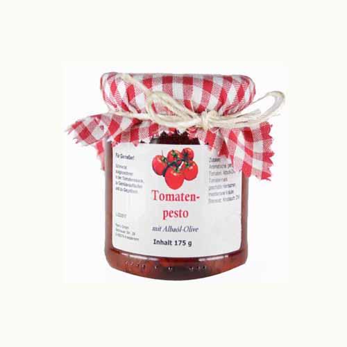 Pikantes Tomatenpesto mit Albaöl Olive 175 g